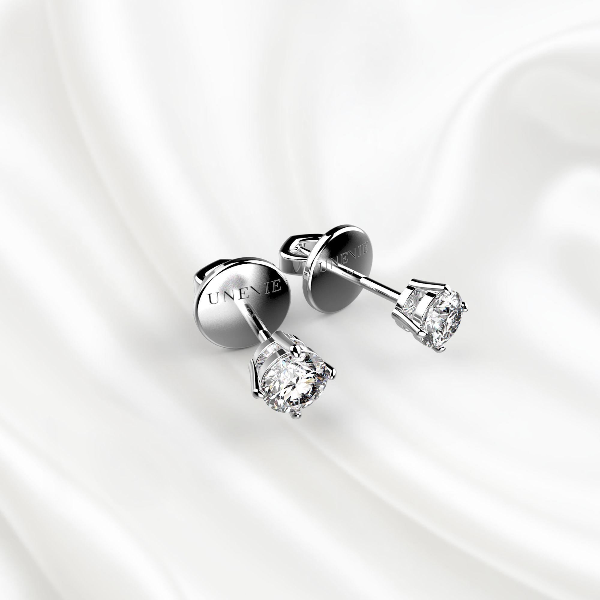 S3 Серьги-пусеты с бриллиантами 0,2 карат