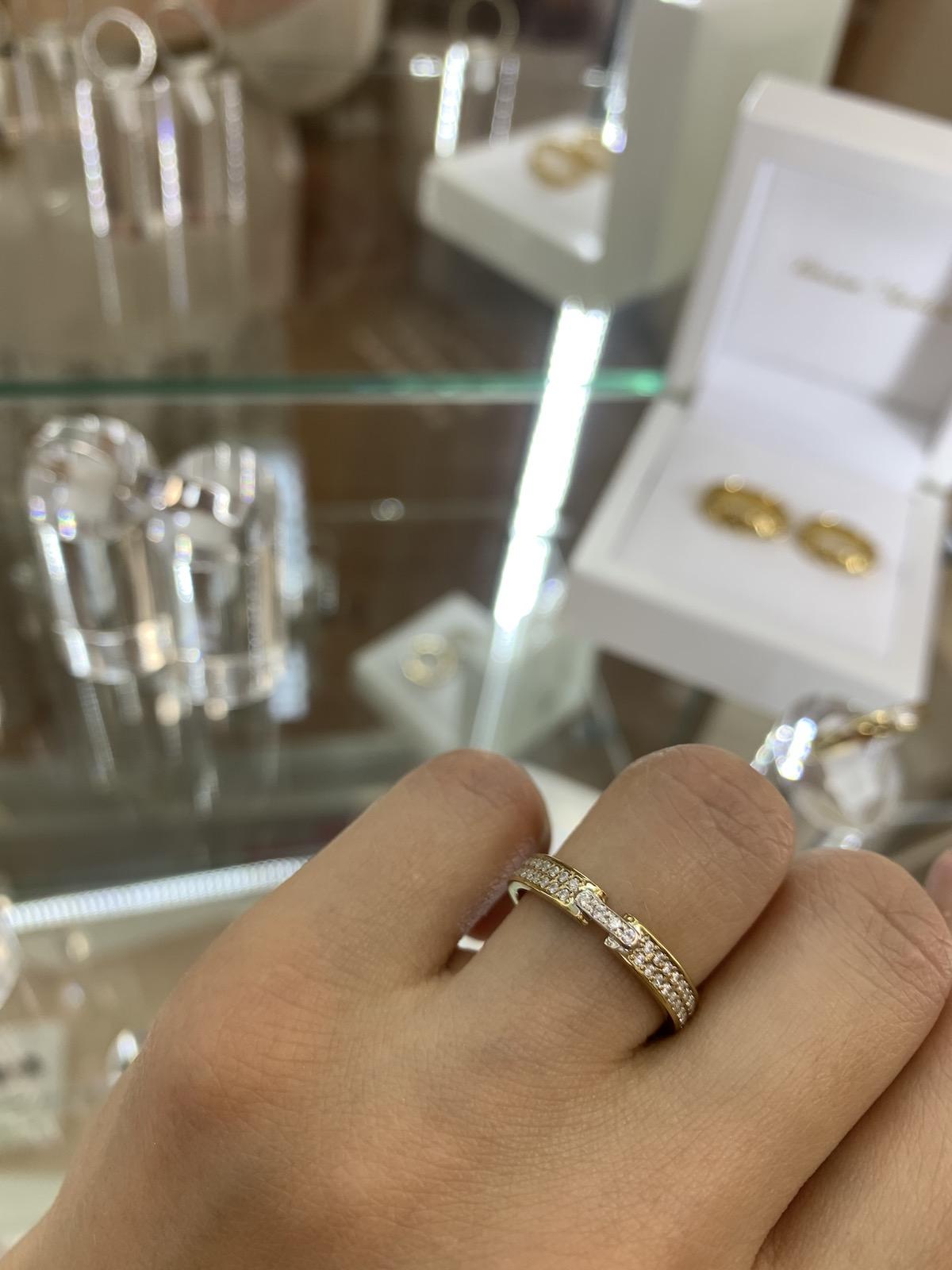 NV66 - парные обручальные кольца с бриллиантами